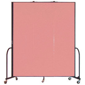 Screenflex® - 6'H Vinyl Upholstered Mobile Room Dividers
