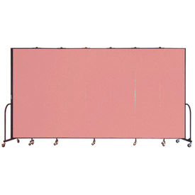 Screenflex® - Vinyl Upholstered Mobile Room Dividers - 8 Ft Height