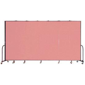 Screenflex® - 8'H Vinyl Upholstered Mobile Room Dividers