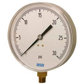 Wika® Stainless Steel Commercial Contractor's Gauges