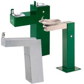 Haws® Galvanized Barrier-Free Pedestal Drinking Fountains