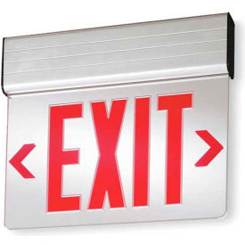 Surface Mount Edge-Lit Exit Signs