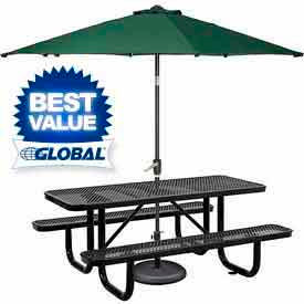 Metal Pole Umbrellas