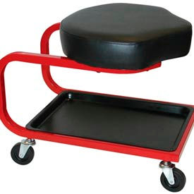 Low Profile Shop Stools With Tool Tray