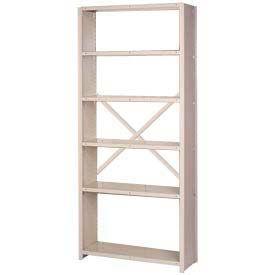 Lyon® Closed Side Steel Shelving (Open Back) 84