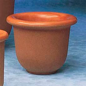 Wausau Tile - Round Concrete Planters – 28 To 30 Inch Wide