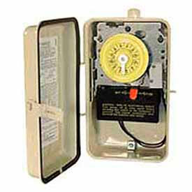 24 Hour Time Switches W / Heater Circuit, Swimming Pool Time Switches