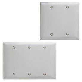 Bryant® Metallic Blank Box And Strap Mount Wall Plates