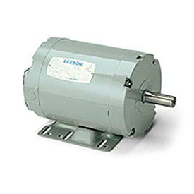 Leeson Aeration Fan Motors, 3-Ph, Belt-Driven, Dust-Tight