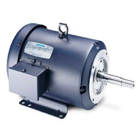 Leeson JM Pump Motors, 3-Ph, TEFC, Rigid Base