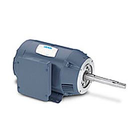 Leeson JP Pump Motors, 1-Ph, DP, Rigid Base