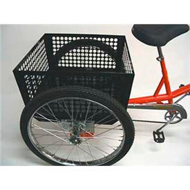Baskets And Boxes For Industrial Bicycles & Tricycles