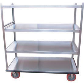 Winholt® Welded Aluminum Shelf Trucks