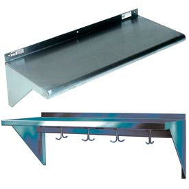 Win-Holt Stainless Steel Wall Mounted Shelves