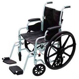 Poly-Fly Lightweight Wheelchair & Transport Chair Combo