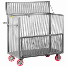 Steel Drop-Gate Security Box Trucks