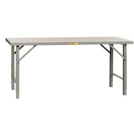 Extra Long 12 Gauge Welded Adjustable Height Assembly Workbenches