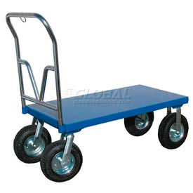 Vestil All-Terrain Steel Deck Platform Trucks