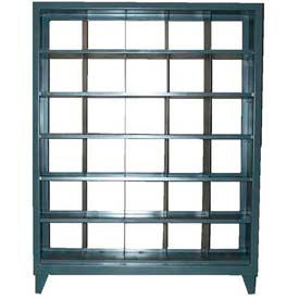 Stronghold® See Thru Metal Bin Compartment Cabinet
