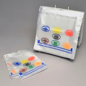Saddle Pack Portion Control Bags - Days of the Week