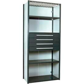 Equipto Modular Shelving Units With Drawers
