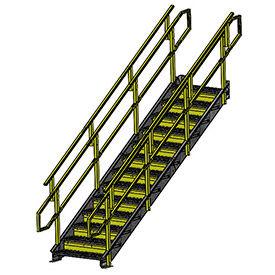 Equipto - Galvanized Stairways with Railing 24