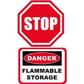 Durastripe Octagon Floor Safety Signs