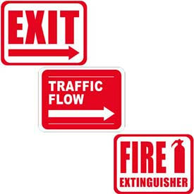 Durastripe Rectangle Floor Safety Signs
