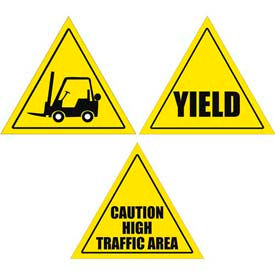 Durastripe Triangle Floor Safety Signs