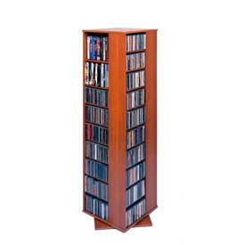 Leslie Dame -  Revolving Four Sided Multimedia Storage Tower