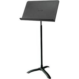 National Public Seating® Melody Music Stand Black