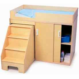 Infants & Toddler Changing Cabinet, Crib and Care Center