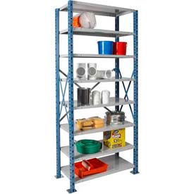 Hallowell H-Post Open Steel Shelving 87