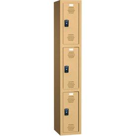 Plastic Lockers - Triple Tier