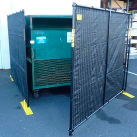 Dumpster And Receptacle Enclosure