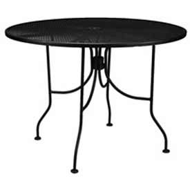 Outdoor Wrought Iron Mesh Tables