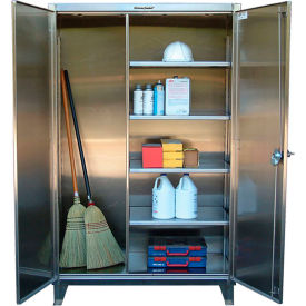 Stronghold® Stainless Steel Closet Storage Cabinets