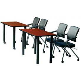 Wood Top Training Tables
