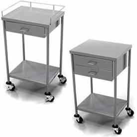 Mobile Anesthesia Utility Tables