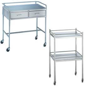 Blickman Portable Stainless Steel Utility Tables