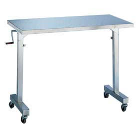 Blickman Adjustable Height Stainless Steel Portable Tables