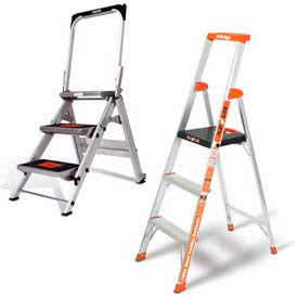 Little Giant® Aluminum Step Ladders