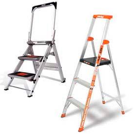 Little Giant® Aluminum Step Ladders