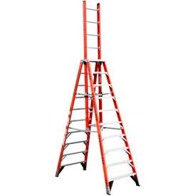 Werner® Fiberglass Extension Trestle Ladders