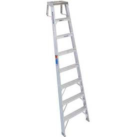 Werner® Aluminum Shelf Ladder