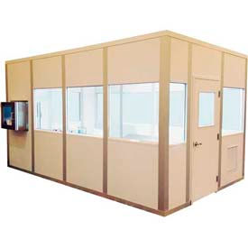 PortaFab Single Pass Modular Cleanrooms - Class A Fire Rated