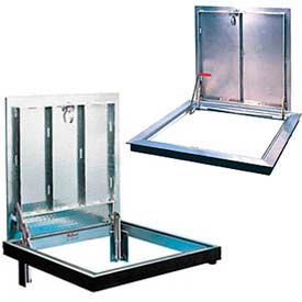 Bilco® Aluminum Floor Access Doors, Channel & Angle Frame