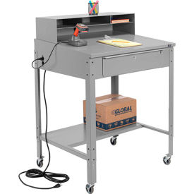 Mobile Open Base Shop Desks