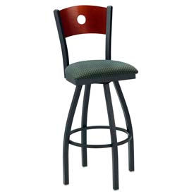 Premier Hospitality Furniture - Wood Back Swivel Bar Stools