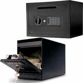 Undercounter Depository Safes - Front Drop Slot Load